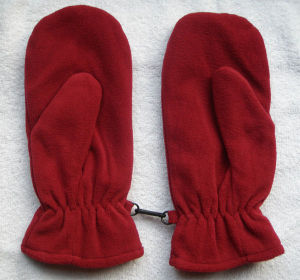 Lady Fashion Polar Fleece Knitted Winter Warm Gloves (YKY5443) pictures & photos