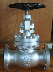 Cast Steel Flange End Globe Valve pictures & photos