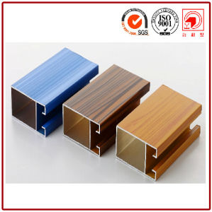 Luxurious Wood Grain Aluminium Profiles pictures & photos