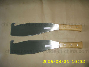 Professional Rail Steel Wood Handle Matchet Caneknife pictures & photos
