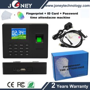 Low Cost 2.8 Inch Color Screen Biometric Fingerprint Time Attendance Terminal with ID Reader pictures & photos
