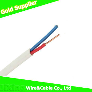 BVVB Twin Solid Flat PVC Sheath Cable Copper Wire pictures & photos