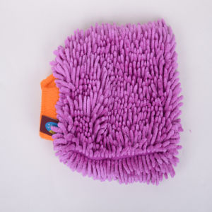 Purple, Superfine Fiber Clean Gloves, Coral Style pictures & photos