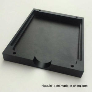 Black Anodized Aluminum Alloy 6061/7075 Military Camera Cover Plate pictures & photos