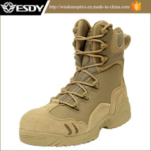 Men′s Us Desert Combat Military Tactical Climbing Boots for Sports pictures & photos