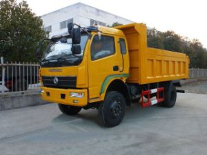 Dongfeng Original Quality 4X4 Small Loading Light Truck / Dump Truck/Tipper pictures & photos