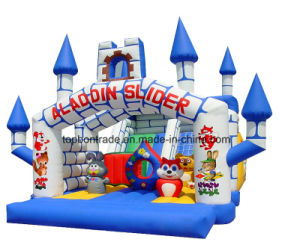 PVC Coating Tarpaulin for Inflatable Castle Tb021 pictures & photos