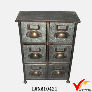 7 Drawer Filing Cabinet Industrial Styled Furniture pictures & photos