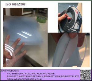 Transparent Frosted PVC Rigid Sheet for Folding Box pictures & photos