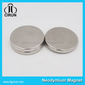 Zinc Plated Disc Round NdFeB Neodymium Magnet pictures & photos