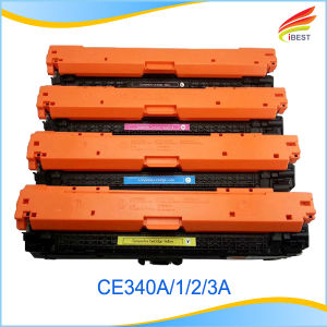 Compatible HP Ce340A, Ce341A, Ce342A, Ce343A Color Toner Cartridge pictures & photos