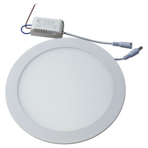 2015 China SMD Recessd 18W Slim Round LED Panel Light (GHD-PS-18W) pictures & photos