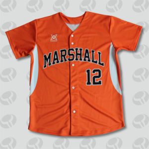 High Quality Custom Sublimated Baseball Jersey/ Sublimated Baseball Shirt pictures & photos