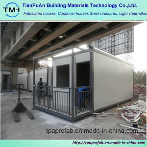 Low Cost Light container House with Balcony pictures & photos