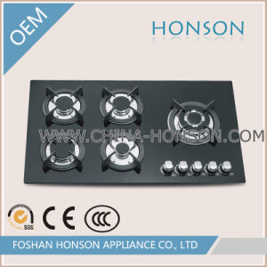 Kitchen Appliance Natural Gas Five Burners Gas Hob Gas Cooktop