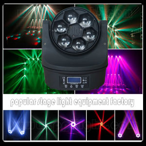 Bee Eyes 6PCS 15W RGBW 4in1 LED Beam Moving Head pictures & photos