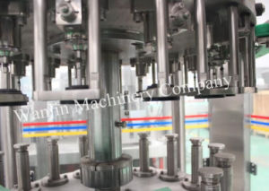 Automatic 3 in 1 Glass Bottle Carbonated Beer Filling Equipment pictures & photos