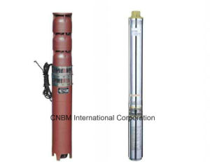 Stainless Steel 4 Inch Submersible Pump with High-Efficiency and High-Speed/Kh pictures & photos