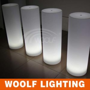 Great Quality Decorative Crystal LED Lighting Pillars with Ce pictures & photos