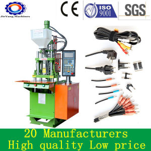 Plastic Inserts Vertical Injection Molding Machine for PVC Cable pictures & photos