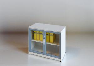 Modern Steel Glazed Swing Door Filing Cabinet (SV-SWG1357) pictures & photos