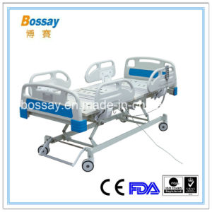 China Factory Electric 5 Function ICU Bed pictures & photos