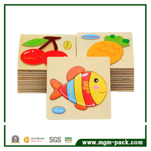 Educational Kids Popular Wooden 3D Puzzle pictures & photos