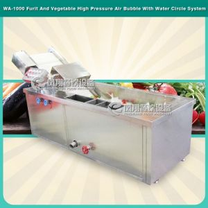Wa-1000 CE Approved Vegetable and Fruit Washing Machine pictures & photos