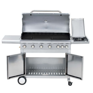 Wholesale Portable Outdoor BBQ Grill Smoker with Ce pictures & photos