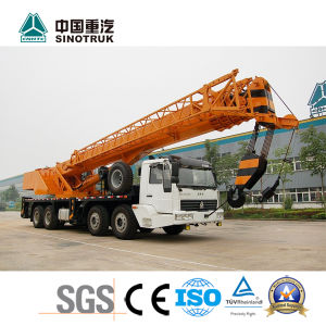Popular Model HOWO Mobile Truck Crane of Qy50u 50t pictures & photos