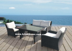 Hot Sale Sofa Set Rattan Wicker Outdoor Furniture Bp-588d pictures & photos