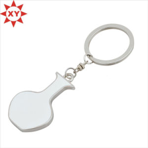 OEM Design Laser Sublimation Keychain Metal for Promotion Gift pictures & photos