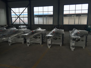 Longitudinal & Transverse Automatic Sliding Table Saw Machine pictures & photos