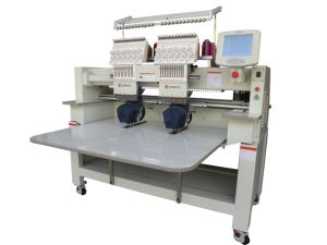 2 Heads Embroidery Machine for Flat+Cap+Finished Garments pictures & photos