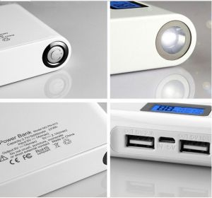 10000mAh Dual USB LCD Digital Display Mobile Power Bank (PB-YD09) pictures & photos