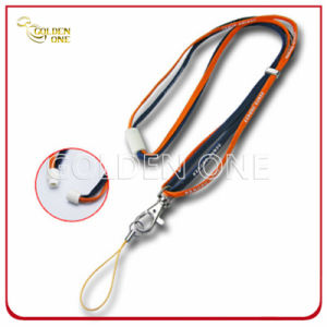 Custom Printed Dye Sublimation Polyester Mobile Phone Lanyard pictures & photos