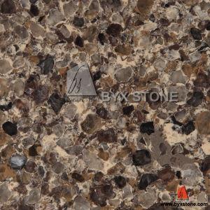 Tropical Brown Quartz for Slab, Countertop, Tile pictures & photos