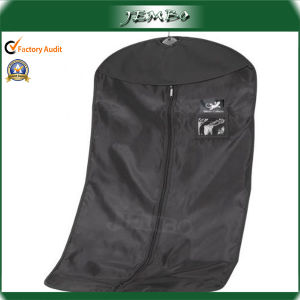 High Quality Black PE Suit Bags with Flap pictures & photos