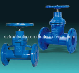 Resilient Seated Ductile Iron Flanged End Gate Valve pictures & photos