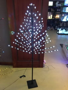 2016 New Designed 1.50m/160L LED Cherry Blossom Tree for Christmas Decoration