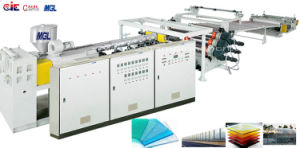 High Efficiency Excellent Quality Corrugated PC Extruding Machine pictures & photos