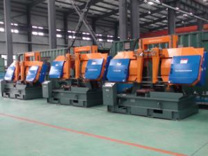 Pipe Prefabrication Band Saw Cutting Equipment PLC pictures & photos