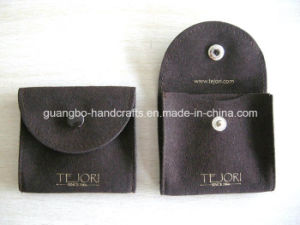 Custom Hot Pink and Gray Jewellry Printed Pouches pictures & photos