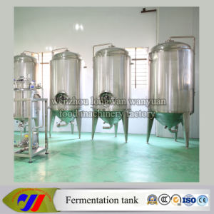 Stainless Steel Honeycomb Jacketed Conical Beer Fermenter pictures & photos