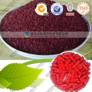Lower Blood Fat Red Rice Red Pigment 0.4%-3% Monacolin K pictures & photos