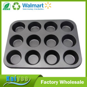Wholesale Promotion 12 Cup Non Stick Bakeware Muffin Pan pictures & photos