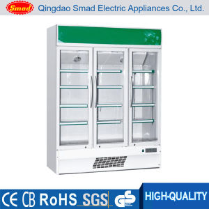 Soft Drink Vertical Display Cooler Showcase LC-420 pictures & photos