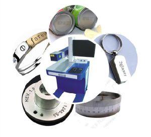 Silicon Carbide Fiber Laser Marking Machine/Silicon Steel Laser Engraving Machine pictures & photos