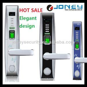 (JYF- L4000) Biometric Door Lock Security Fingerprin with Card, Pin, Password or Key Unlock Way pictures & photos