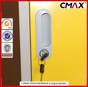 Steel 4-Doors Colorful School Locker Gym Changing Room Metal Cabinet Cmax-SL04-004 pictures & photos